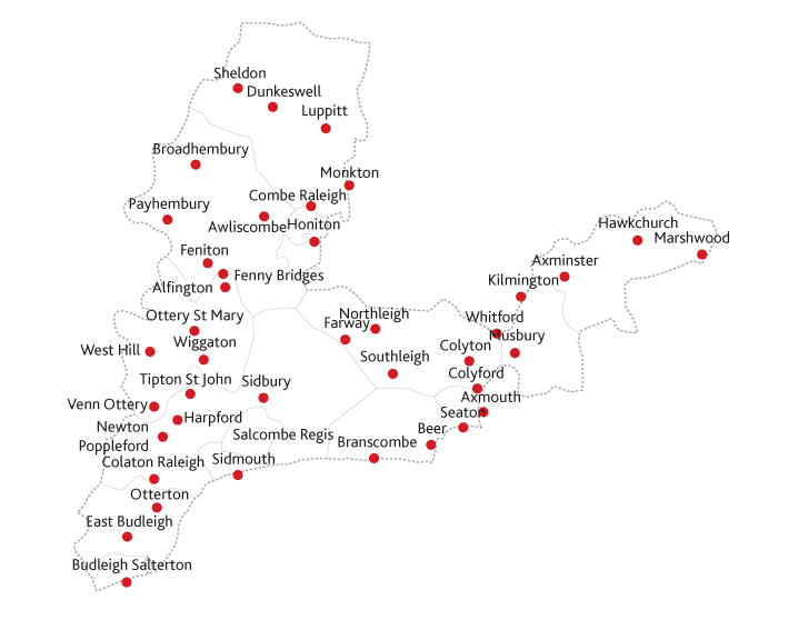 Cranbrook Herald Routes to Market Map