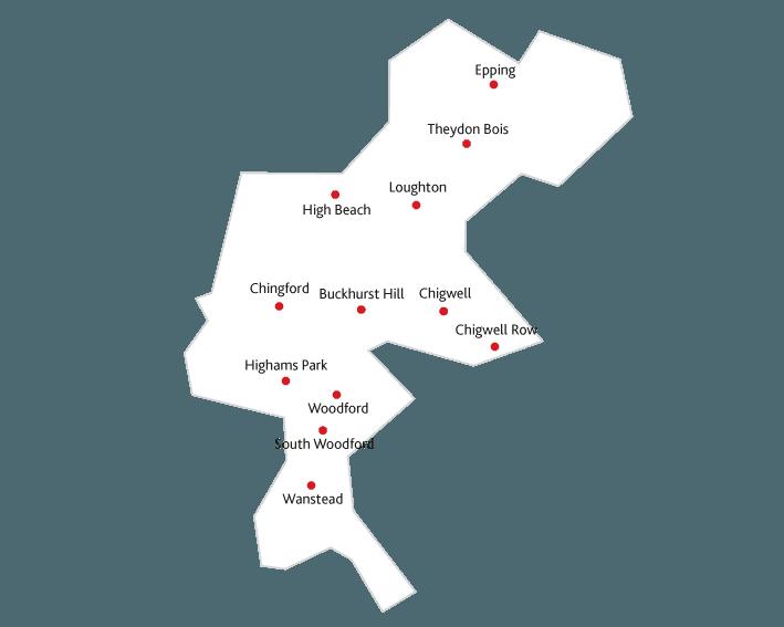 Essex Life Magazine Routes to market map