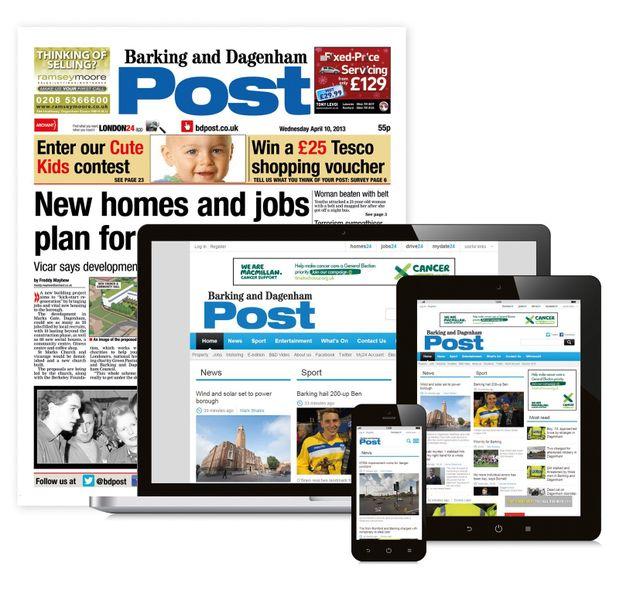 Barking and Dagenham Post Newspaper