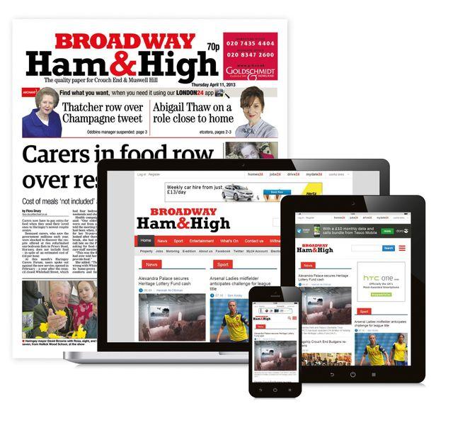 Ham and High Broadway Newspaper