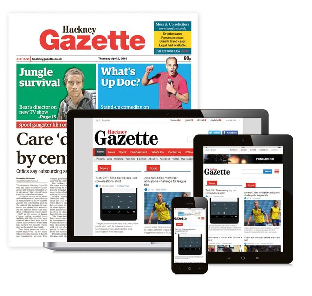 Hackney Gazette Newspaper