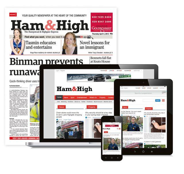 Ham and High Express Newspaper
