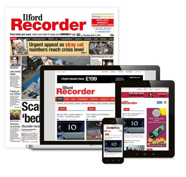 Ilford Recorder Newspaper