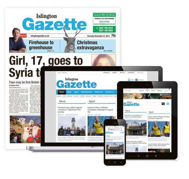 Islington Gazette Newspaper