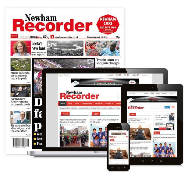 Newham Recorder Newspaper