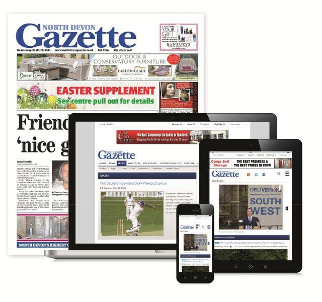 North Devon Gazette Newspaper