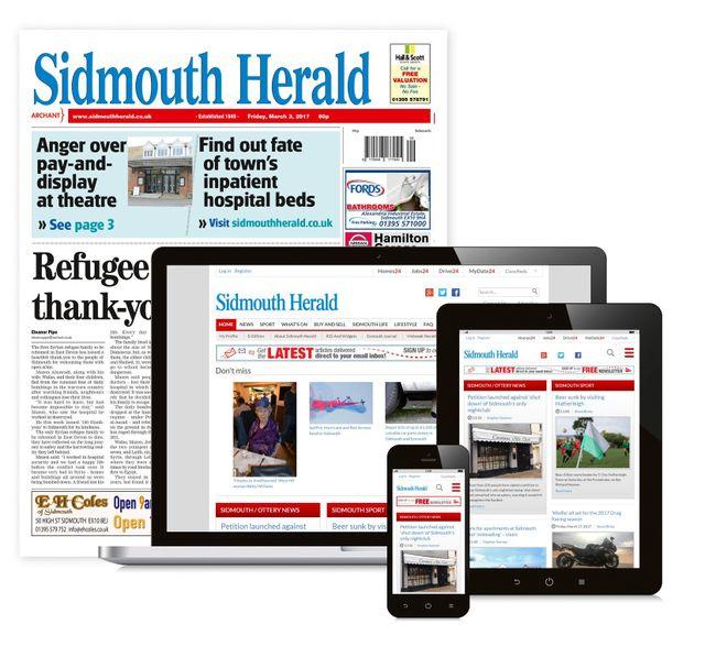 Sidmouth Herald Newspaper