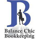 balance chic bookkeeping logo