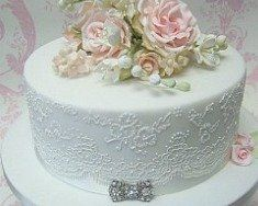 Anniversary Cakes and Smaller Wedding  Cakes