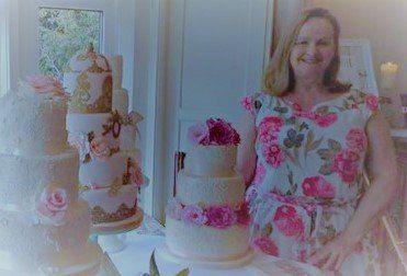 Contemporary Wedding Cake Design Bristol & Somerset