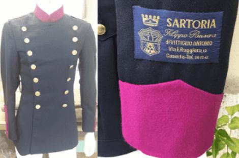 giacca doppiopetto polizia municipale