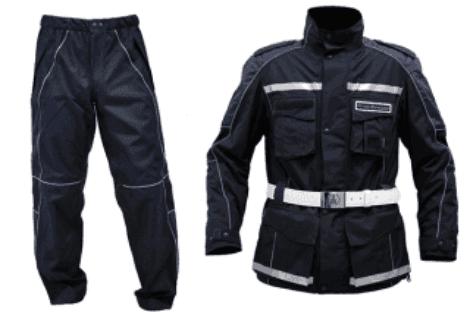 copri pantalone e giacca a vento