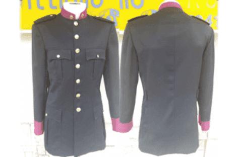 giacca monopetto polizia municipale