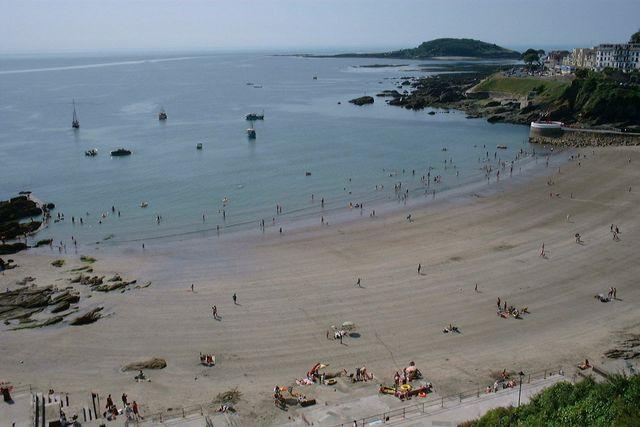 Deep Blue Shore Looe Cornwall - East Looe Beach