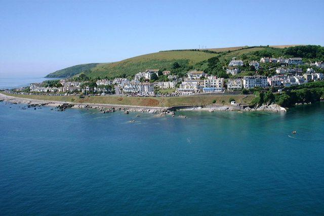 Deep Blue Shore Looe Cornwall - View of Hannafore