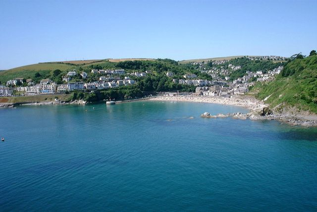 Deep Blue Shore Looe Cornwall - Looe from the Sea