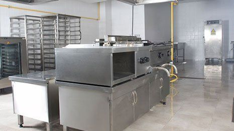 Catering equipment installation