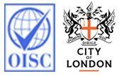 OISC, DIRIGE City Of London logos