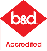 b and d accredited logo