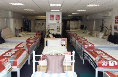 a wide range of beds
