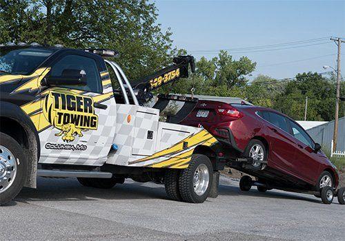Towing Columbia MO | Tiger Towing | Tow Truck Columbia MO