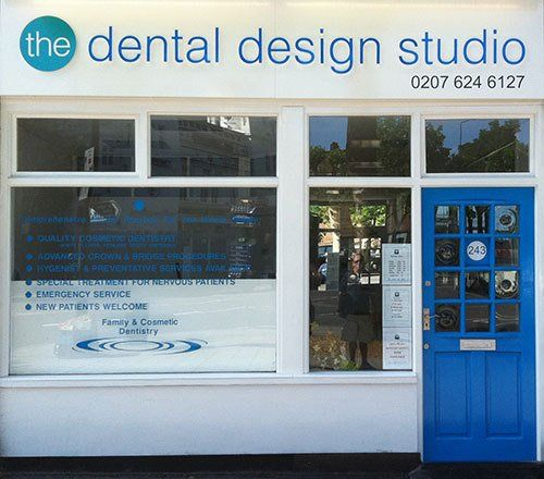 image of the dental design studio location