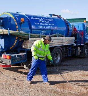 Professional cesspool emptying from Ashfield Effluent Service Ltd
