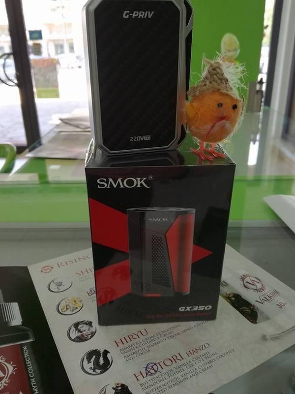 Varietà di fragranze per sigarette e pipe elettroniche