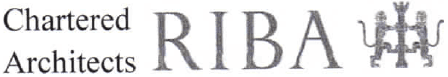 RIBA Chartered Architects logos