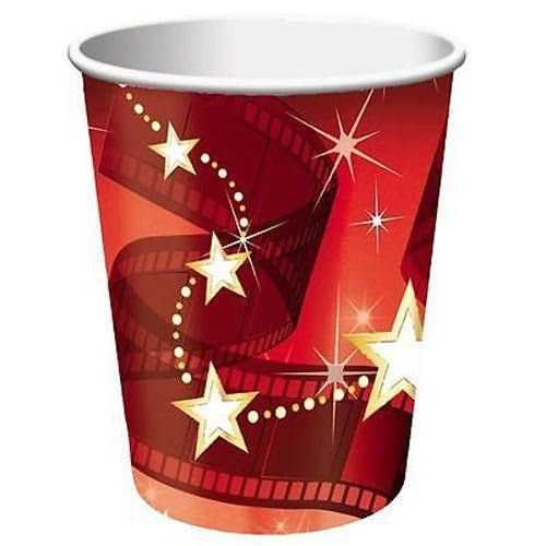 Lights Camera Action Paper Cups