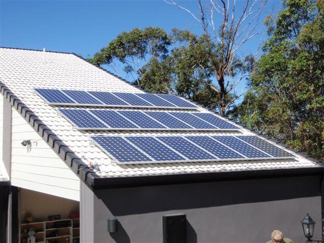 solar panel instal in nambour