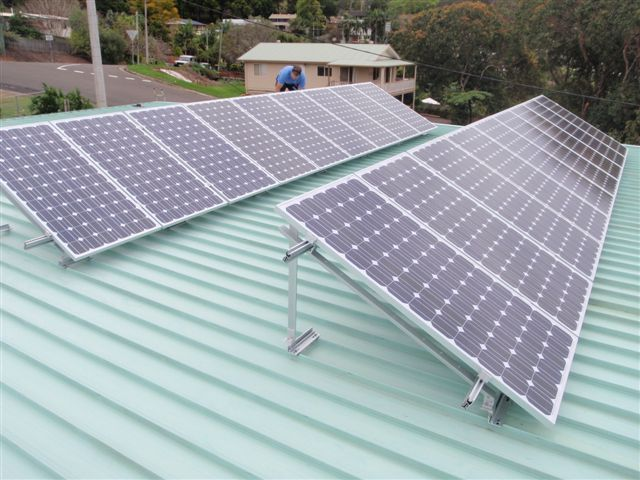 new solar panel instal in nambour