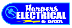 harpers electrical & data logo