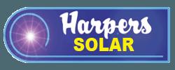 harpers solar logo