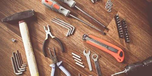 Tools used in construction