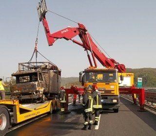 riparazione di veicoli industriali, soccorso, recupero camion