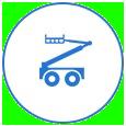 icona piattaforma aeree