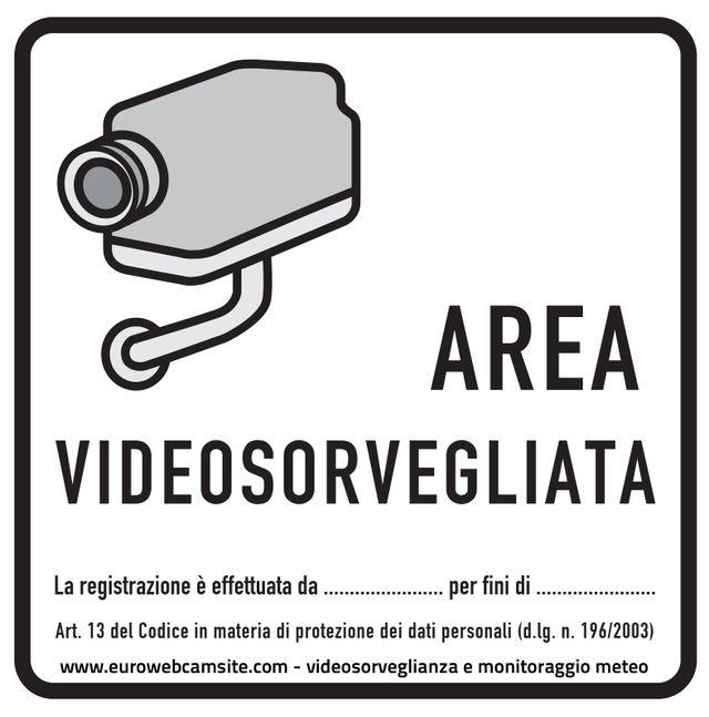 vista della casa tramite i filmati della videocamera di sorveglianza su un computer portatile
