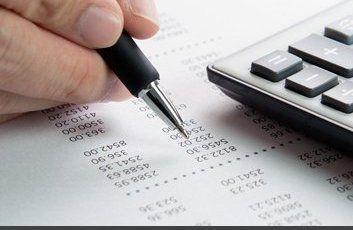individual making calculations