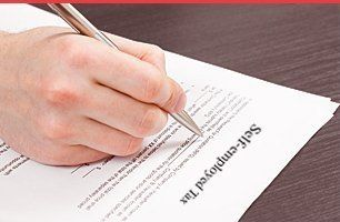writing self-employment tax