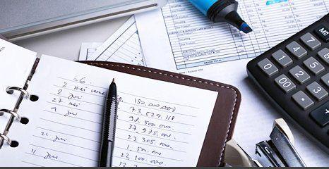 book and calculator