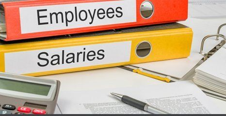 employees and salaries files