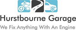 Hurst Bourne Garage logo