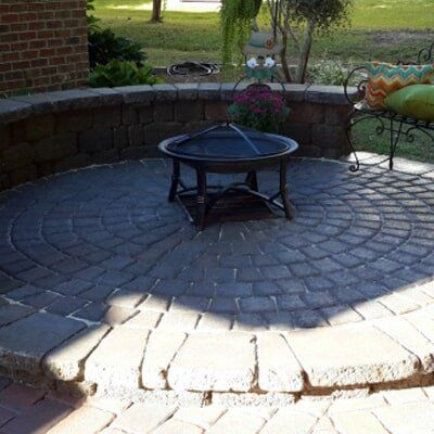 Modern Patio Flooring - Hardscapes in Fayetteville, NC - Hardscape Installation - Fayetteville, NC - Hillside Construction