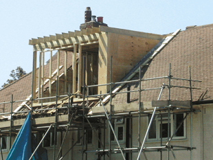 New dormer window construction