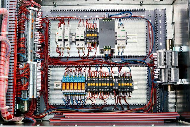 Quadro elettrico per il controllo di energia elettrica