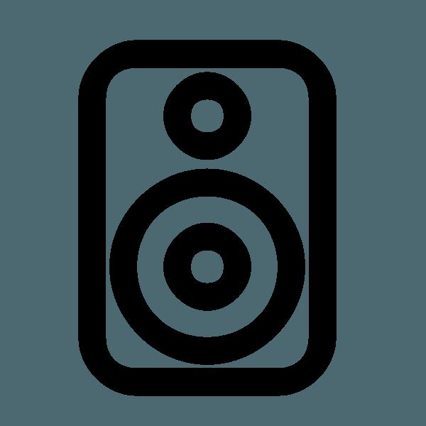 logo di una cassa audio