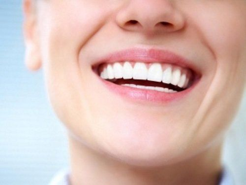 una bocca sorridente
