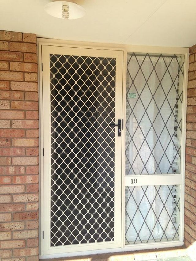 Residential Security Doors Just Glass