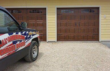 Merveilleux Job Site 4 All American Garage Door U2014 Installation In Wartburg, TN